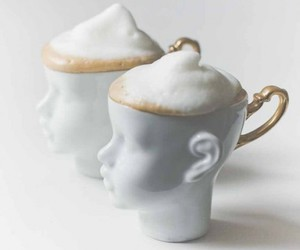 cup, coffee, and head image