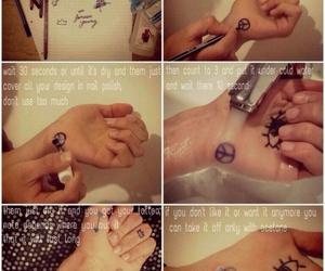 diy, tatouage, and tutorial image
