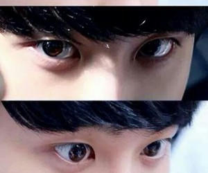 exo, kyungsoo, and eyes image