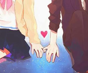 love, anime, and couple image