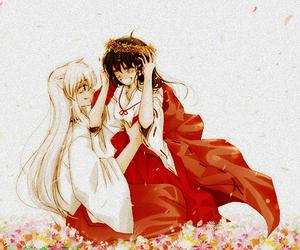 anime, inuyasha, and kagome image