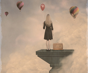 balloons, Dream, and dress image