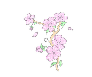 flowers, pink, and tumblr image