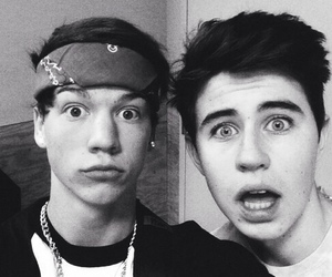 taylor caniff, nash grier, and boy image
