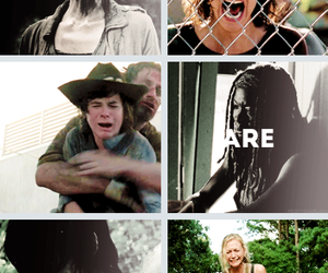 zombie and walking dead image