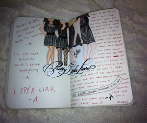 art, wreck this journal, and pretty little liars image