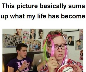 tyler oakley, youtubers, and fangirl image