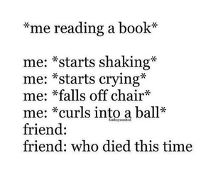 book, friends, and funny image