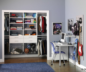 bedroom, closet design, and big design image