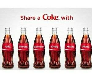 pretty little liars, coca cola, and coke image