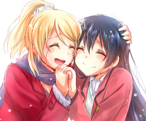 anime, love live, and friends image