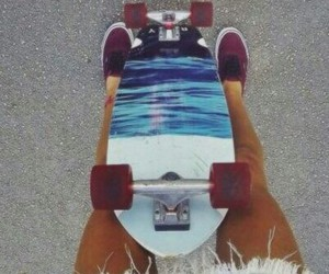 girl, skate, and cool image