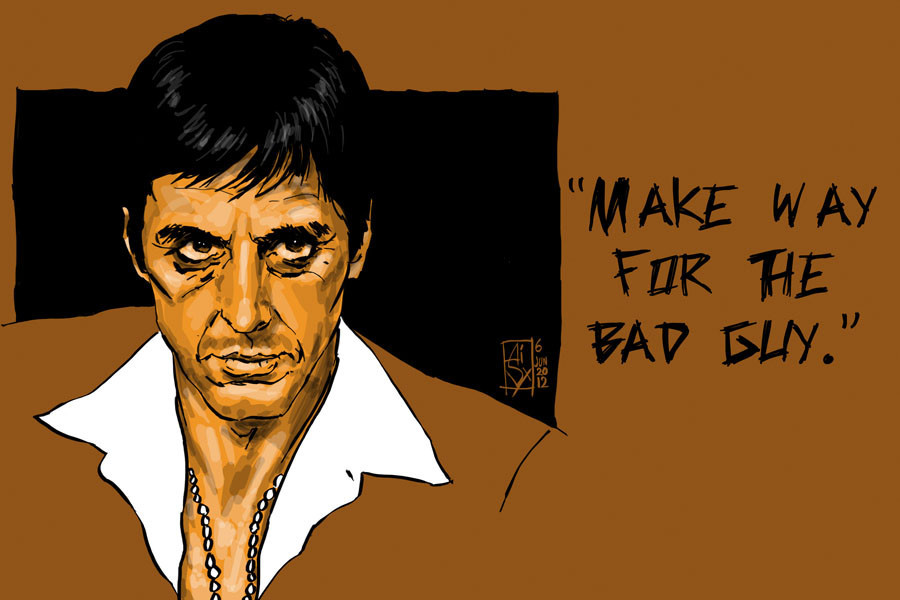 Image About Scarface In Al Pacino Movies By Hlektra Mou Kou
