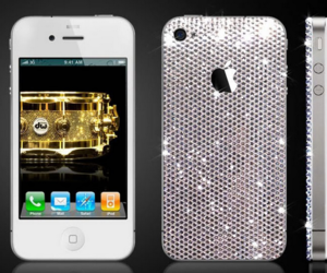 diamonds and iphone4 image