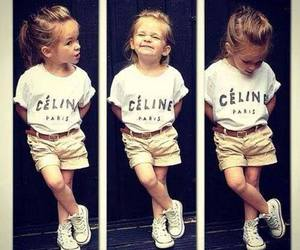 fashion, kids, and celine image