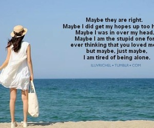 beach, quotes, and typo image