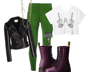 fashion, look, and dr.martens image