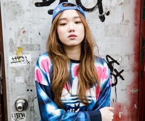 lee sung kyung, adidas, and fashion image
