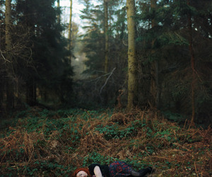 girl and nature image