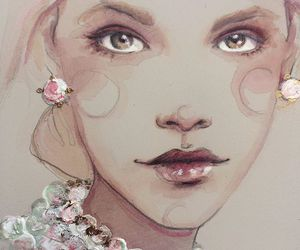 art, girly, and lovely image
