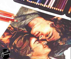the fault in our stars, art, and drawing image