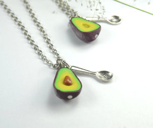 bff, avocado, and jewelry image
