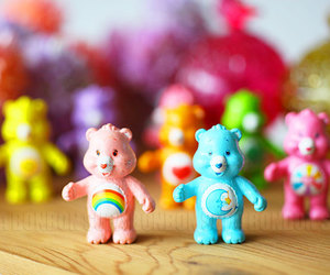 care bear, childhood, and happy image