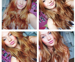 ginger, girl, and redhead image