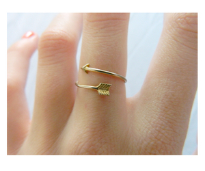 ring, arrow, and gold image