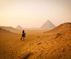 egypt, pyramid, and giza image
