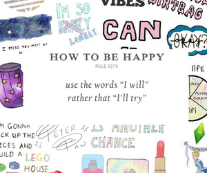 happy, how to be happy, and try to will image