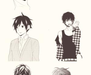 boys, manga, and Hot image