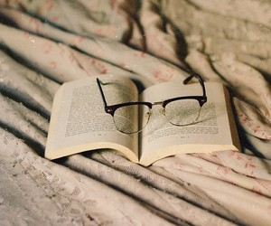 books, passion, and glass image