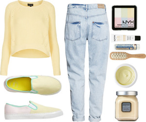 boyfriend, GAp, and Polyvore image