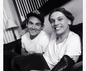 Kevin Zegers, Jamie Campbell Bower, and friends image