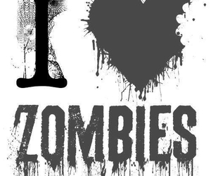 zombies and black and white image
