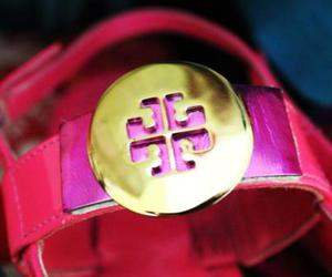 pink, sandals, and tory burch image