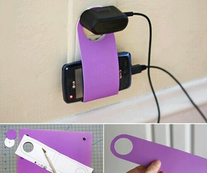 diy, phone, and charger image