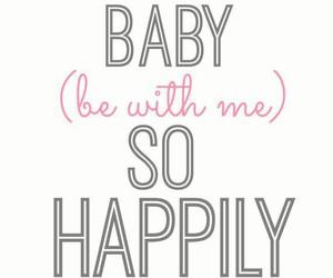 one direction, happily, and Lyrics image