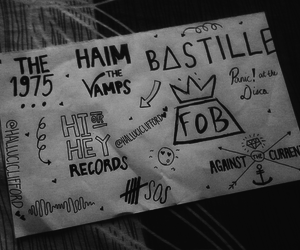 bands, bastille, and P!ATD image