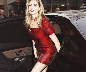 red dress and kate upton image