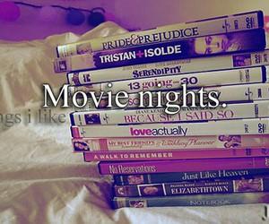 night, movie, and movies image