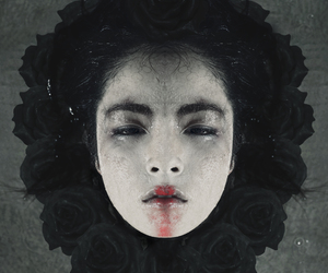 beauty, japanese, and surreal image