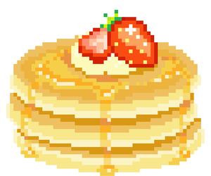 pancakes, pixel, and transparent image