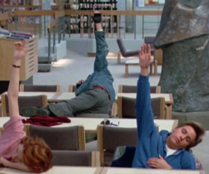 blue, pink, and The Breakfast Club image
