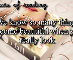 books, quotes, and before i fall image