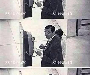 funny, lol, and mr bean image