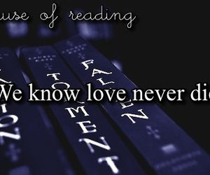 books, quote, and love image