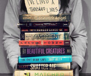 book, divergent, and life image