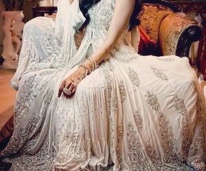 bride, beautiful, and indian image